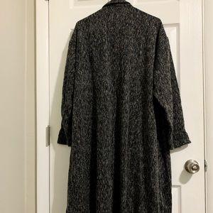 Zara Rustic Black Long Jacket